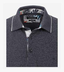 Polo-Shirt in graues Dunkelblau - CASAMODA