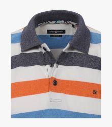 Polo-Shirt in mittleres Dunkelblau - CASAMODA