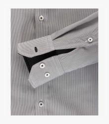 Businesshemd in Schwarz Slim Fit - VENTI