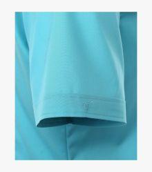 Businesshemd Kurzarm in Aqua Body Fit - VENTI