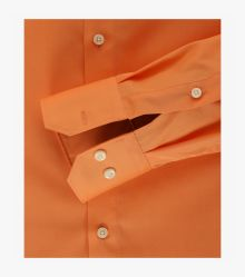 Businesshemd in Orange Modern Fit - VENTI