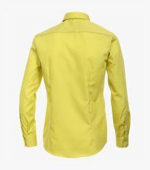 Businesshemd in Gelb Modern Fit - VENTI