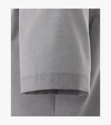 Businesshemd Kurzarm in Grau Modern Fit - VENTI