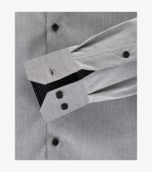Businesshemd in Grau Modern Fit - VENTI