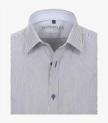 Businesshemd Hyperflex in Dunkelblau Body Fit - VENTI