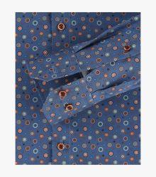 Businesshemd in Aquadunkelblau Modern Fit - VENTI