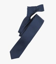 Krawatte in mittleres Dunkelblau - VENTI