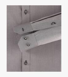 Businesshemd Hyperflex in Grau Body Fit - VENTI