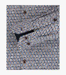 Businesshemd in Braun Modern Fit - VENTI