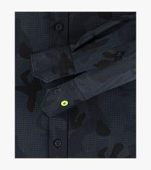 Sneakershirt in Schwarz Modern Fit - VENTI