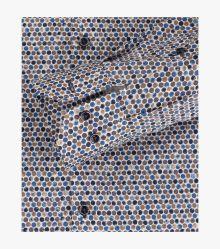 Businesshemd in Mittelblau Modern Fit - VENTI