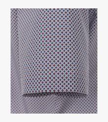 Businesshemd Kurzarm in 100 blau Modern Fit - VENTI