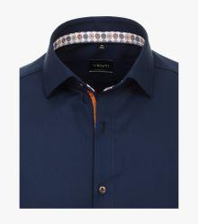 Businesshemd in 108 blau Modern Fit - VENTI