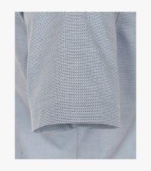 Businesshemd Kurzarm in 100 blau Body Fit - VENTI