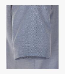 Businesshemd Kurzarm in Mittelblau Modern Fit - VENTI