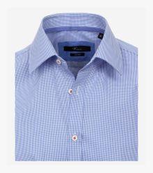 Businesshemd in helles Mittelblau Slim Fit - VENTI