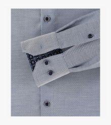 Businesshemd extra langer Arm 72cm in Blau Modern Fit - VENTI