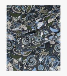 Businesshemd in graues Mittelblau Modern Fit - VENTI
