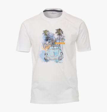T-Shirt in Weiß - CASAMODA