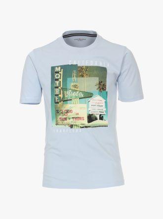 T-Shirt in Hellblau - CASAMODA