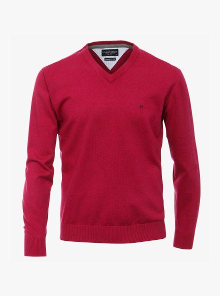Pullover in Pinkrot - CASAMODA