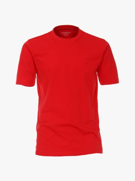 T-Shirt in Hellrot - CASAMODA