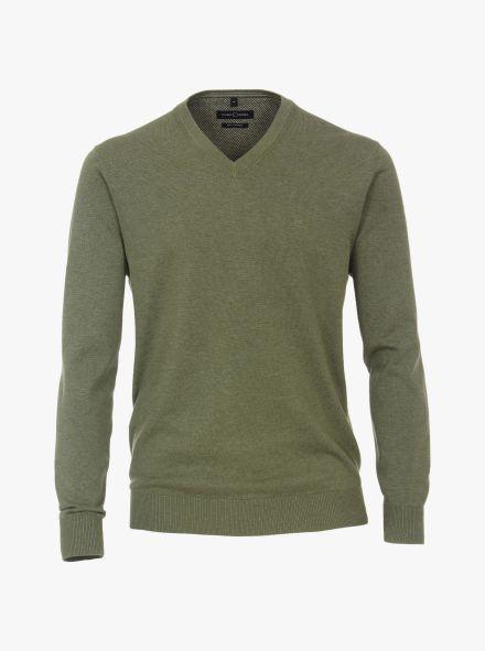 Pullover in Olive - CASAMODA