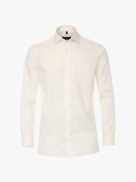 Businesshemd extra langer Arm 72cm in Weißbeige Comfort Fit - CASAMODA
