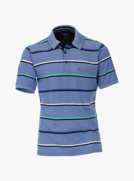Polo-Shirt in Hellblau - CASAMODA