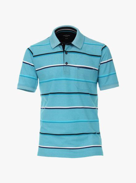 Polo-Shirt in Türkis - CASAMODA