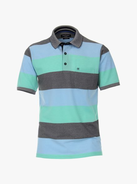 Polo-Shirt in Hellgrün - CASAMODA