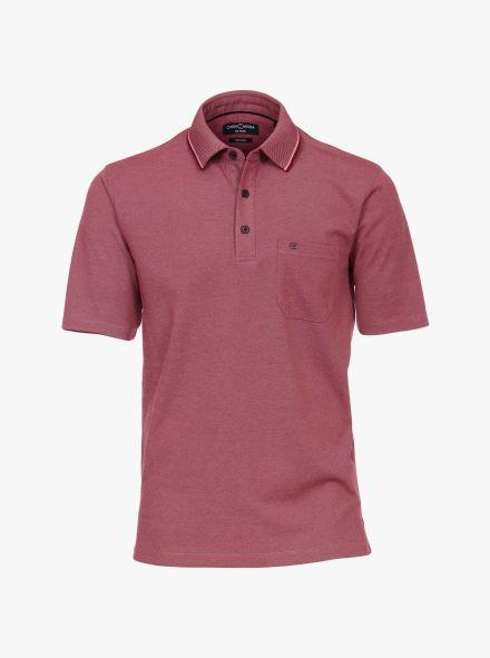 Polo-Shirt in Magenta - CASAMODA
