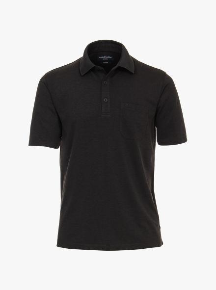 Polo-Shirt in Grauschwarz - CASAMODA