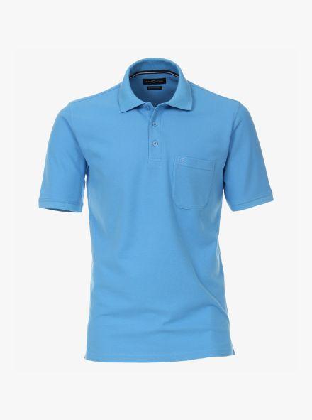 Polo-Shirt in Himmelblau - CASAMODA