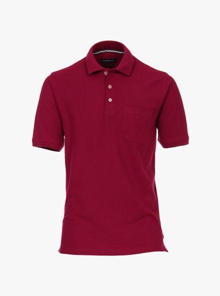 Polo-Shirt in Beere - CASAMODA