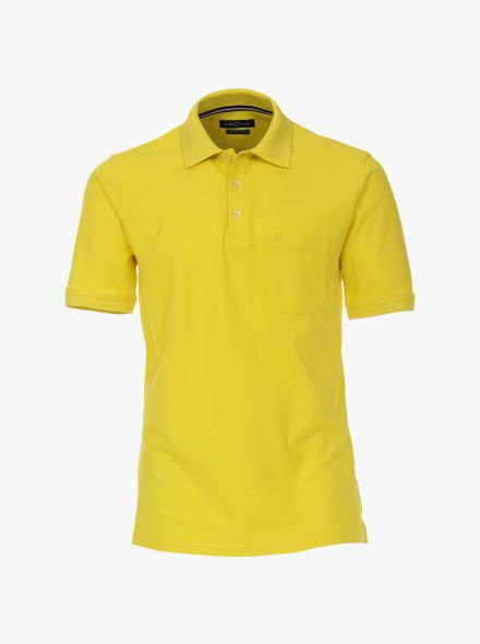 Polo-Shirt in Senfgelb - CASAMODA
