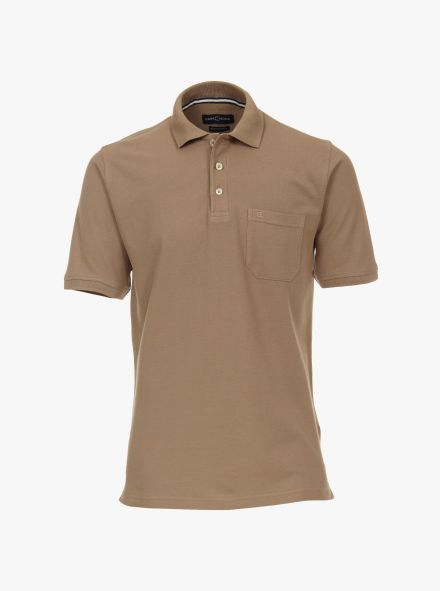 Polo-Shirt in Beige - CASAMODA