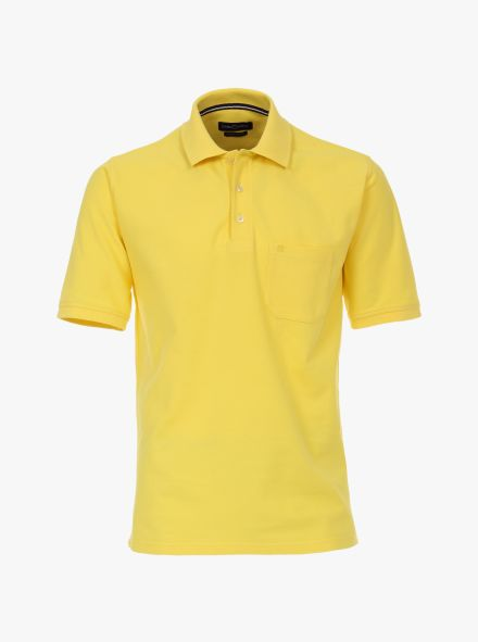 Polo-Shirt in Gelb - CASAMODA