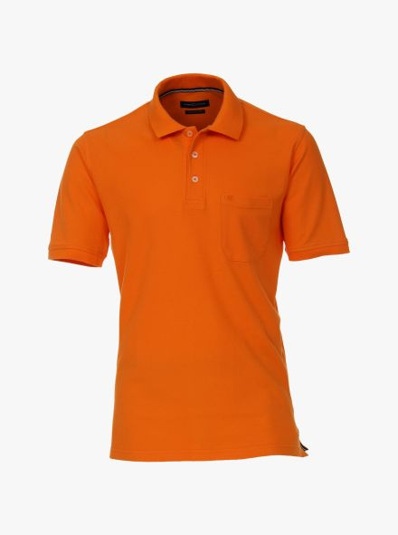 Polo-Shirt in Orange - CASAMODA