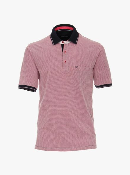 Polo-Shirt in Rosarot - CASAMODA