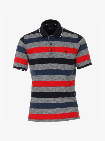 Polo-Shirt in Grau - CASAMODA
