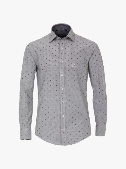 Freizeithemd in Grau Casual Fit - CASAMODA