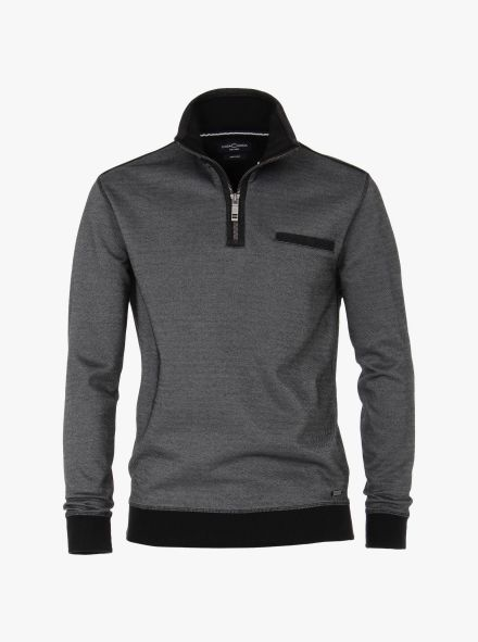 Sweatshirt in Grau - CASAMODA