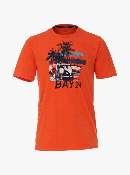T-Shirt in Orange - CASAMODA