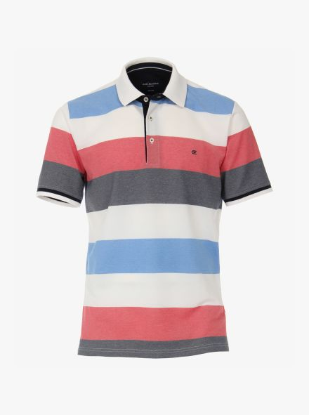 Polo-Shirt in Mittelrot - CASAMODA