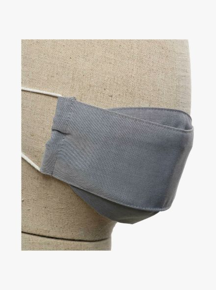 Mund-Nasen-Maske Doppelpack Kinder in Hellgrau - CASAMODA