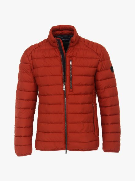 Steppjacke unifarben in Orange - CASAMODA