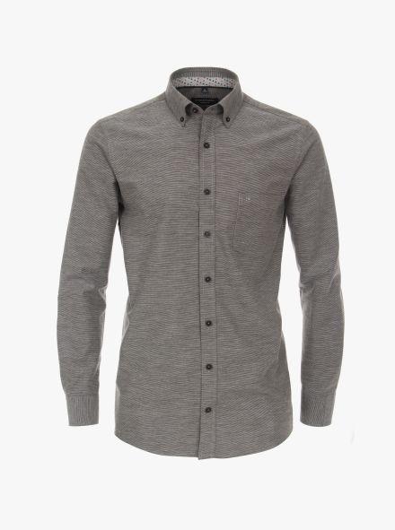 Freizeithemd in Grau Comfort Fit - CASAMODA