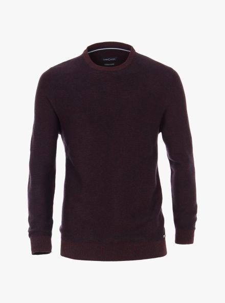 Pullover in Bordeauxrot - CASAMODA