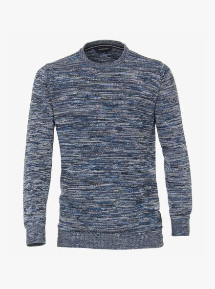 Pullover in Mittelblau - CASAMODA